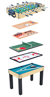 9-in-1 Multi Game Arcade Table Air Hockey, Pool, Foosball, Ping Pong and more!