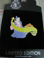 Disney Cinderella Fairy Godmother Pumpkin pin LE 100