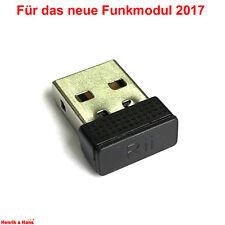 Rii 2.4GHz USB-Empfänger Funk-Dongle für Rii i8 i8+ K12 K12+ für neues Funkmodul