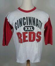 vtg 90s 1994 Cincinnati Reds t shirt Jersey Baseball Mid Length Mlb Xl