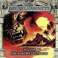 Die Insel des Dr.Moreau von Gruselkabinett-Folge 122   CD   Zustand sehr gut