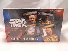 STAR TREK CCG 2E  STRANGE NEW WORLDS COMPLETE SEALED BOX OF 30 PACKS
