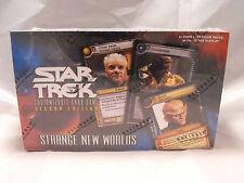 STAR TREK CCG 2E  STRANGE NEW WORLDS COMPLETE SEALED BOX OF 30 PACKS