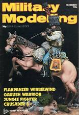 MILITARY MODELLING MAGAZINE 1976 DEC 2ND REGIMENT OF LANCERS OF THE FRENCH