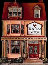 Brandywine Collectible Houses & Shops: This Olde House Wooden Shelf Sitter