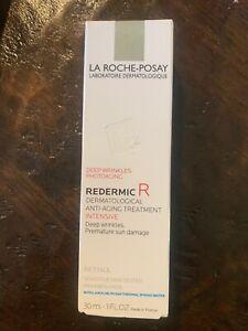 LA ROCHE-POSAY REDERMIC R DERMATOLOGICAL ANTI AGING TREATMENT INTENSIVE 1 OZ BOX