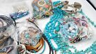Unsigned Southwestern Silver Tone Turquoise 3.6lb Mixed Lot DY942