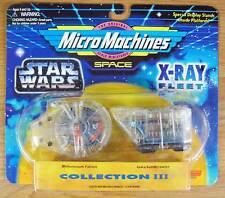 Millennium Falcon Jawa Sandcrawler Star Wars Xray Micro Machine Collection III