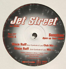 JET STREET....SUNSHINE(open up youy heart)...PromoCopy