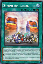 3X Symph Amplifire -Common- RATE-EN092-NM-Yugioh Raging Tempest
