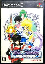 Tales of Destiny - PS2 Bandai Namco Role Playing Game from Japan F/S