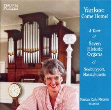 Yankee: Come Home! An Organ Tour of Newburyport, Mass. Marian Metson Plays