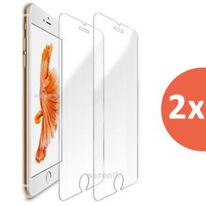 2x iPhone SE 2020 Panzerfolie Glasfolie Panzer Schutzfolie Schutzglas Folie 9H