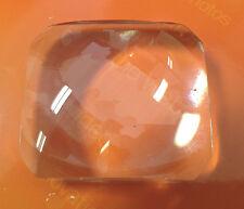 2 x Schott Double Convex lens- 68mm focal length 50 x 57 crown glass