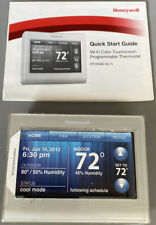 Honeywell Wi-Fi Smart Color Programmable Thermostat RTH9580WF w/ Quick Ref Guide