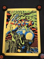 Pearl Jam Lisbon 2018 S/N Ames Bros Poster Gold Variant Limited Edition 81/85
