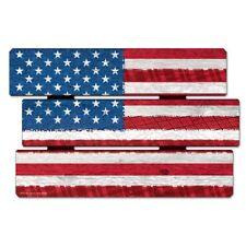 "AMERICAN USA FLAG AMERICANA FENCE WOOD SIGN 11""X17"" NEW WINCRAFT"