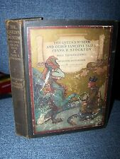 1906 The Queen's Museum and Other Fanciful Tales, Antique Children's Fantasy