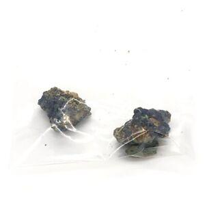 2x Wixine Natural Azurite Malachite Crystal Mineral Specimen Healing Stone 1-3cm