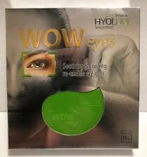 Hyalual WOW EYES Re-Usable Eye Gel Pads (Peptide Hydrogel Masks) NIB