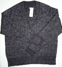 NWT FCUK FRENCH CONNECTION SWEATER L/S SLIM FIT VEE XXL