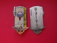 N°4 insigne militaire pucelle armée promotion infanterie génie parachutistes etc