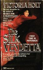 The Silk Vendetta by Victoria Holt 1989 pb- BUY ANY 4 TO GET FREE SHIPPING