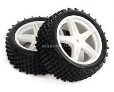 Rc 1:10 Buggy 2x Front 2x Rear Tires Insert Sponge Wheel Sets Hsp 66006-66026