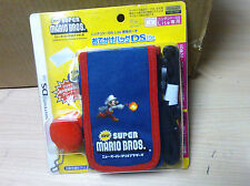 New Licensed Nintendo Super Mario Bros 3DS DS Lite DSi Canvas Carry Case New
