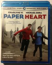 PAPER HEART Yi, Cera -Sundance Winner MINT NEW BLU-RAY! Free First Class In U.S.