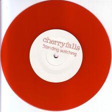 "CHERRYFALLS - STANDING WATCHING - 7"" RED VINYL PROMO SINGLE - MINT"