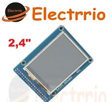 EL0438 Pantalla 2.4 TFT LCD modulo Display touch panel SD card 240x320 Arduino
