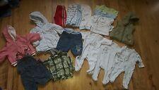 Boys Clothing Bundle Newborn ( 17 Items)