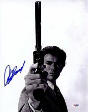 Clint Eastwood Signed 11x14 Glossy Photo PSA COA Auto Autograph Dirty Harry 1971