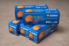 5x Konica centuria ISO 200 24exp - 110 película de color-caducado