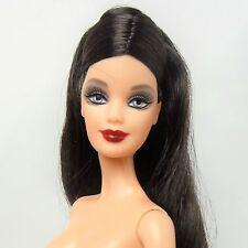 Barbie Doll Model Muse Raven Hair  Blue eyes Mackie Face Nude Hybrid