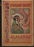 Swamp-Root Almanac 1943 Weather Predictions, Horoscopes, Dream Book Medicine