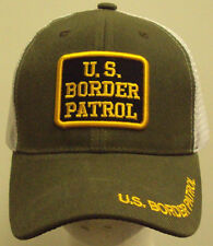 U.S. CUSTOMS & BORDER PATROL PROTECTION AGENT BPA DHS CBP TRUCKER MESH CAP HAT