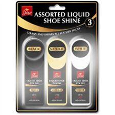 Jump Assorted Liquid Shoe Shine, 3 Pack