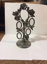 Vintage Family Picture Tree GODINGER Photo Frame Metal Rose Hanging Ornament