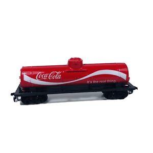 Vintage HO Tyco Coca-Cola 40' Single Dome Advertising Tank Car D