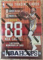 (1) 2018-19 Panini NBA Hoops Sealed Basketball Blaster Box - Luka Doncic RC?