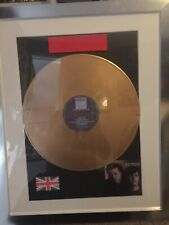 Tears For Fears Songs From The Big Chair Gold Vinyl LP disc