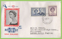 New Zealand 1953 Royal Visit on illustrated First Day Cover