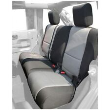 Jeep Wrangler Unlimited (JK) 07-16 Neoprene Rear Seat Cover Black /Gray 13264.09