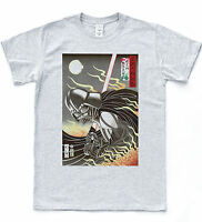 VADER Japan T-shirt Retro Star Sith Wars Tee, Cult Film Indie Sketch