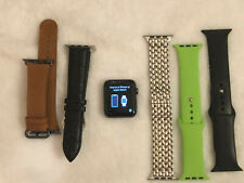 Apple Watch Nike+ 42mm Space Gray Aluminium Case with accessories