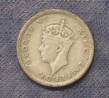 1938 Fiji Silver Sixpence -- VF -- King George V