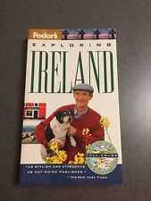 1st Edition Exploring Ireland Fodor's 1994 Full Color Maps Paperback