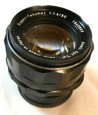 ASAHI SUPER - TAKUMAR f1.4 50mm PRIME LENS Ser No 1840869 - M42 - EX CONDITION